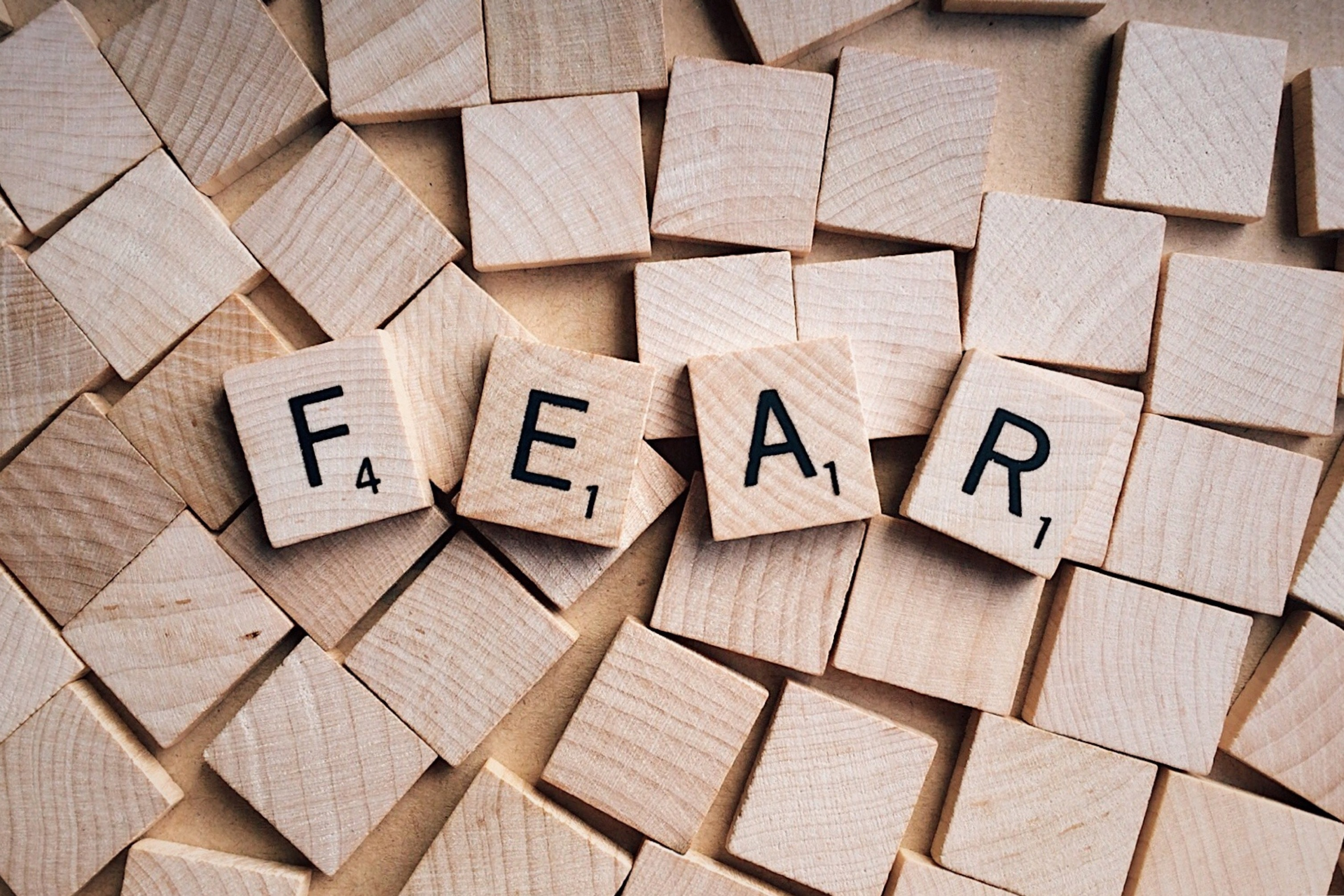 What am I (and perhaps you) afraid of? Part 1