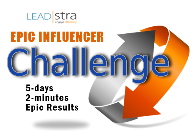 Have You Registered for the Leadstra 2-Minute Epic Influencer Challenge Yet? Watch This Video